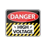 Danger hign voltage Royalty Free Stock Image
