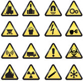 Danger icons Stock Photography