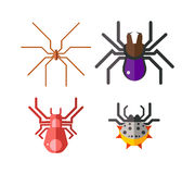 Danger insects vector set. Stock Photos