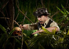 Danger in the jungle royalty free stock images