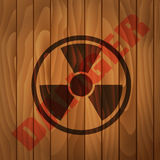 Danger label Stock Images