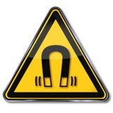 Danger of magnetic field Stock Photo