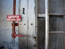 Danger Natural Gas Stock Image