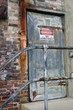 Danger no admittance sign Stock Image