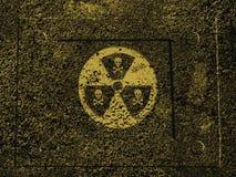 Danger nucléaire Photo libre de droits