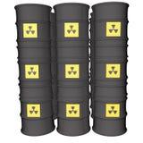 Danger nucléaire Image libre de droits