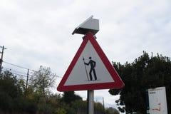 Danger pilgrim Stock Photo