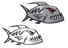 Danger piranha Royalty Free Stock Image