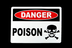 Danger Poison Stock Photo