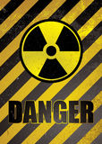 Danger poster Stock Photos