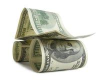 Danger, pouvoir - mashine du dollar Photographie stock libre de droits