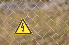 Danger restricted area Royalty Free Stock Images