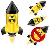 Danger rocket Stock Image