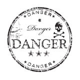 Danger rubber stamp Stock Photo