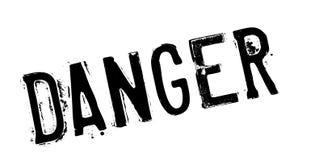 Danger rubber stamp Stock Image