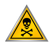 Danger sign royalty free illustration