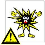 Danger sign. Royalty Free Stock Image