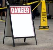 Danger sign Stock Photos