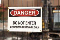 Danger Sign Royalty Free Stock Image