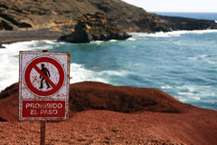 Free Danger Sign Royalty Free Stock Photography - 24624167