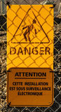 Danger Sign Royalty Free Stock Photo