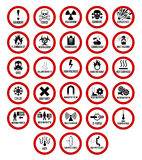 Danger Sign Royalty Free Stock Photos