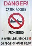 Danger Sign Stock Images