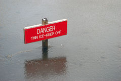 Free Danger Sign Stock Photography - 8246152