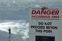 Danger sign Royalty Free Stock Photo