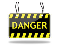 Danger sign (vector) Stock Photo