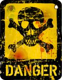 Danger sign, Royalty Free Stock Photo