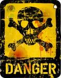 Danger sign, royalty free illustration