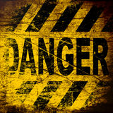 Danger sign. Stock Images