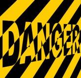 Danger sign. Stock Image