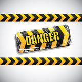 Danger signal Royalty Free Stock Photos