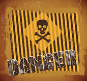 Danger signal Royalty Free Stock Photography