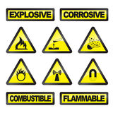 Danger signals Royalty Free Stock Image