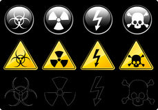 Danger Signs Stock Images
