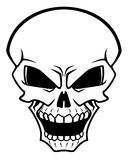 Danger skull Royalty Free Stock Photo