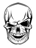 Danger skull Royalty Free Stock Photos