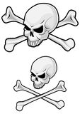 Danger skull Royalty Free Stock Image