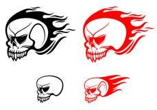 Danger skulls Royalty Free Stock Photos