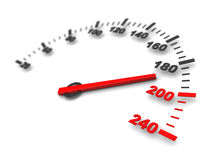 Danger speed Royalty Free Stock Image