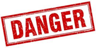 Danger stamp. Danger square grunge stamp. danger sign. danger vector illustration
