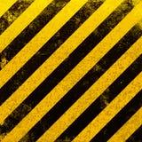 Danger striped background Stock Image