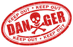 Danger symbol Royalty Free Stock Images