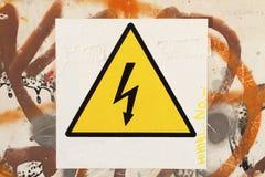 Danger symbol Stock Photography