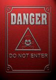 Danger symbol Royalty Free Stock Photo