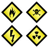 danger symbols royalty free illustration
