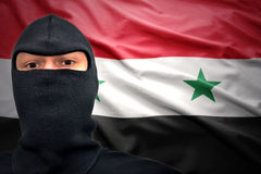 Danger syrien Image libre de droits